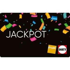 FNAC.com heeft weer Jackpot kortingskaarten 50=60 en 130=150
