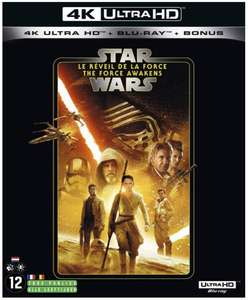 Diverse 4K Star Wars films, o.a. The Force Awakens voor €9,99@Amazon.nl