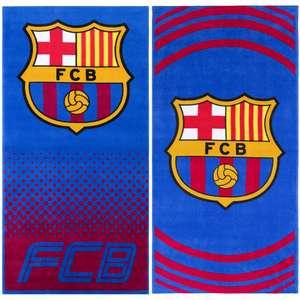 Official Club Merchandise FC Barcelona handdoek [2 prints]