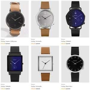Sieraden & horloges tot 70% korting + code 20% EXTRA