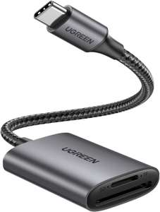 UGREEN USB C SD/Micro-SD kaartlezer voor €8,39 @ Amazon NL