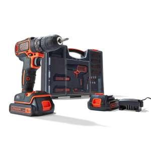 Black+Decker accuboormachine BDC718AS2O-QW + 80-delige accessoireset - (prijs incl. €20 cashback)