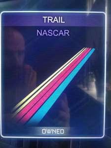 Gratis NASCAR trail in rocket league