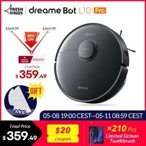 Xiaomi Dreame L10 Bot (3D Obstacle Avoidance) Robotstofzuiger 4000PA(EU)