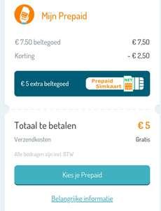 Extra beltegoed & korting op Simyo Prepaid simkaart