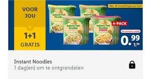 8 pakjes Noodles voor €0,99 bij Lidl (Plus)