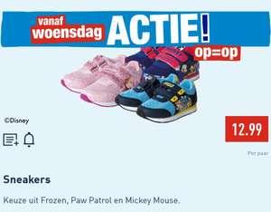 ALDI Disney kinder sneakers Paw Patrol, Mickey Mouse of Frozen