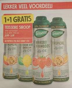 Teisseire siroop 1+1 gratis @ Jan Linders