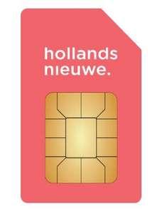 Hollandsnieuwe 10000 min/sms/MB Sim Only + 50 euro voucher @Belsimpel