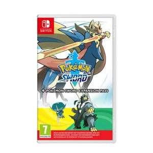 Pokemon Sword/Shield + expansion Nintendo switch (NL doosje) @Wehkamp & @Amazon.nl