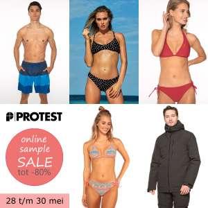 PROTEST sample sale: tot 80% korting