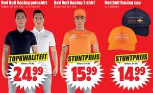 DIRK Red bull Racing T-shirt, Polo of cap vanaf 14.99