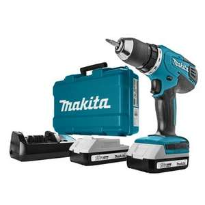 Makita accuboormachine DF457DWE