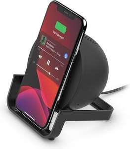 Belkin BOOST CHARGE draadloos oplaadstation - Luidspreker met Bluetooth (Wit/Zwart)