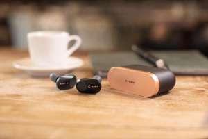 Sony WF-1000XM3 - Volledig draadloze oordopjes met Noise Cancelling - Zwart