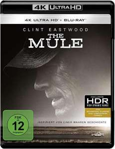 The Mule en Darkest Hour 4K Blu-ray