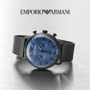 Emporio Armani AR11201 Aviator herenhorloge
