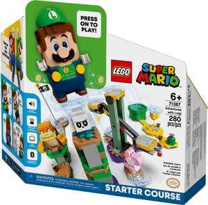 71387 Luigi Starter Bouwset €44,95 | 71360 Super Mario voor €32,49 met €10 coupon deal