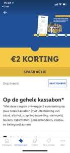 "Lidl ""trakteert"": onbeperkt twee euro kassabon korting Lidl (Plus App)"