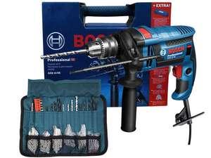 Bosch GSB 16 RE Klopboormachine + 100 Accessoires