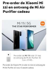 Xiaomi Air Purifier cadeau bij aanschaf Mi 11i