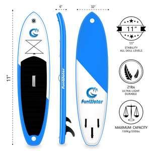 Funwater Opblaasbare Paddle Board SUP voor €204,37 @ DHgate