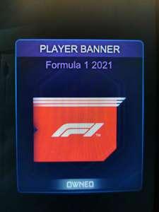 Formule 1 player banner Rocket League