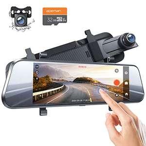 Apeman 7 inch dashcam 1080p en andere extra's