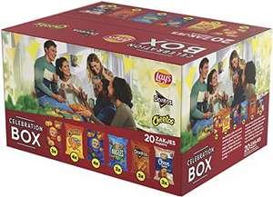 Lay's Celebration Box Chips - Lay's, Doritos & Cheetos, Doos 20 stuks (40 gram)