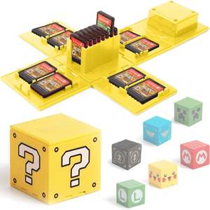 Nintendo Switch Game Card Case, Game Card Houder voor Nintendo Switch Games met 16 Slots
