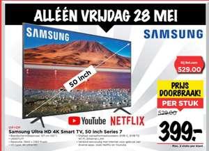VOMAR - Samsung Ultra HD 4K Smart TV, 50 inches Series 7 (UE50TU71)