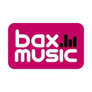 7,5% Korting bij Bax Music
