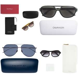 Merk zonnebrillen tot 80% korting [o.a. CK, Lacoste, Nike, Chloé]