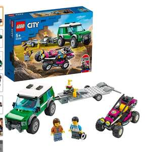 LEGO 60288 City Race Buggy Transporter 12,99 bij Amazon.nl en bij Bol.com