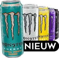 12 blikken Monster Energy Ultra voor 12,99 bij Supspace