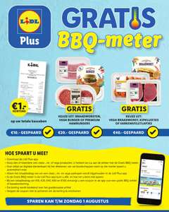 BBQ meter bij de lidl #gratis producten