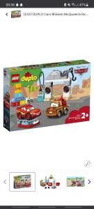 Lego duplo 10924, bliksem McQueen's racedag