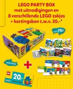 Gratis Lego Party box + 20 euro kortingsbon bij 150 euro aan Lego producten bij Intertoys
