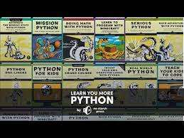 E-Books Programmeren: Python Crash Course, Learn to Program with Minecraft, e.a. (15 boeken)
