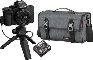 FLITSDEAL: Panasonic Lumix DC-G100 Vlogkit Compleet (incl. 12-32mm, tripod, tas en accu) - Zwart