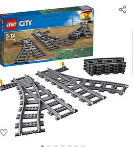 Lego city treintrack wissels