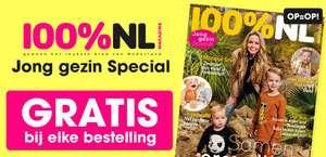 Gratis 100%NL magazine bij elke bestelling