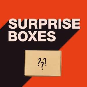 4 funky flavours surprise boxen met flinke korting. In dames, heren en kindermaten.
