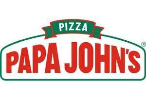 60% korting op pizza @ Papa John's (Utrecht, Amersfoort, Veldhoven en Zoetermeer)