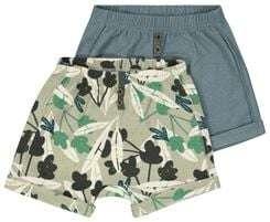 SALE: set van 2 baby- / dreumes shorts [van €12]