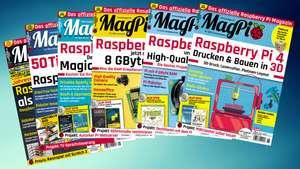 Gratis 26x Raspberry-Pi Magazine