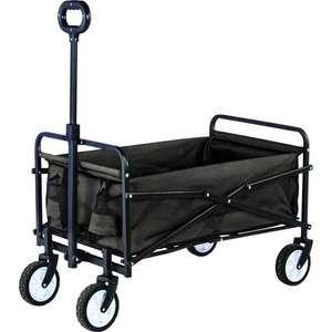 Blokker (mini) bolderwagen/bolderkar antraciet