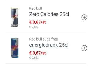 [GRENSDEAL BELGIË] Red Bull zero/sugar free