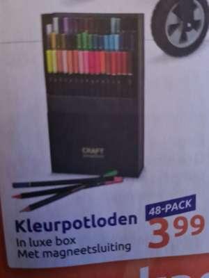 Weekactie Action: Craft Sensations 48-delige set kleurpotloden voor €3,99
