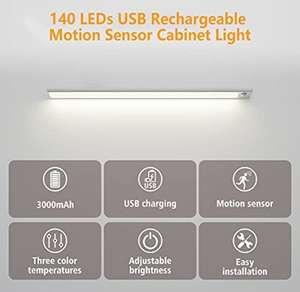 74/123 leds usb oplaadbare lamp bewegingssensor